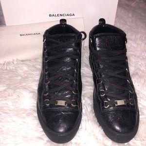 Authentic Balenciaga Black Sneakers
